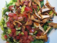 Salat mit Pfifferlingen - Rezept