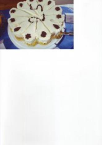 Windbeutel - Torte - Rezept