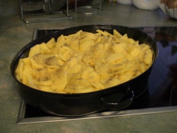 """Teufelchens Bratkartoffeln mit """"Schweinschnäuzchen"""" - Rezept - Bild Nr. 2"""