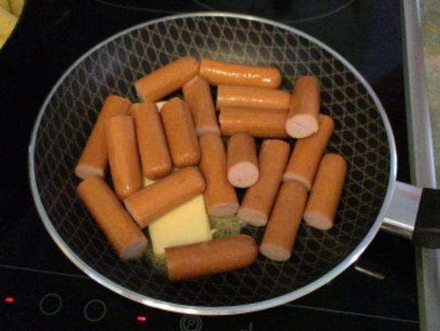 """Teufelchens Bratkartoffeln mit """"Schweinschnäuzchen"""" - Rezept - Bild Nr. 3"""