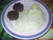 Gemüse - Kohlrabi in weißer Soße - Rezept