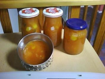 Pfirsich-Ananas-Marmelade mit... - Rezept