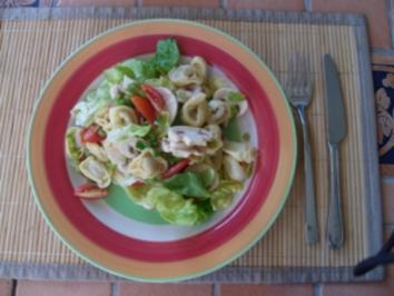 Rezept: WW-Rezept Tortellini Salat pro Person 5 Punkte
