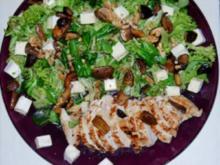 Hähnchensalat mit Brie - Rezept