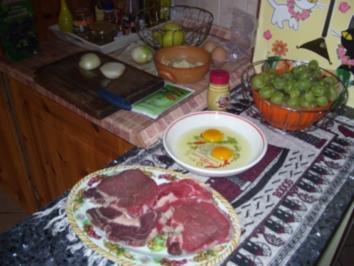 Flambiertes Rumsteak nach Art des Chefs - Rezept