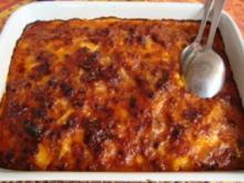 Hauptgericht - Sonstiges - Polenta - Lasagne - Rezept