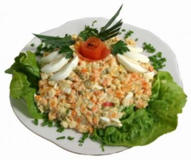 Kartoffeln-Gemüse Salat (Vegetarisch) - Rezept