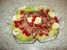 Bunte Salatplatte - Rezept