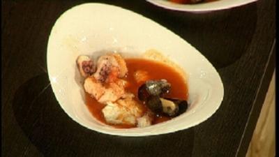 Toskanischer Fisch-Eintopf - Rezept