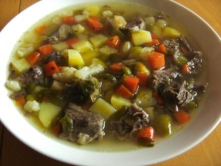 Suppen: Gemüsesuppe - Rezept