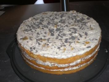 Pfirsich-ChocoCrossies-Torte - Rezept