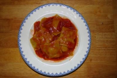 Rezept: Ravioli selbstgemacht, nicht ganz klassisch...
