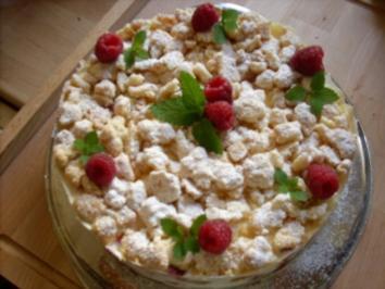 Himbeer-Streusel-Torte - Rezept