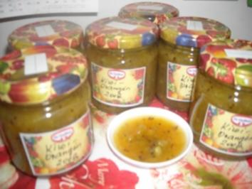 Rezept: Kiwi - Orangen - Marmelade