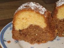 Nougat-Marmorkuchen - Rezept