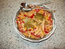 Pikanter Maissalat - Rezept