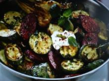 Zucchini -Pfanne mit Cabanossi - Rezept - Bild Nr. 2