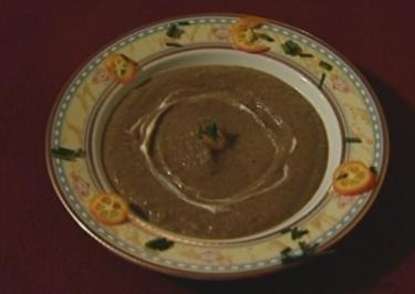 Auberginensuppe mit Koriander (Maite Kelly) - Rezept