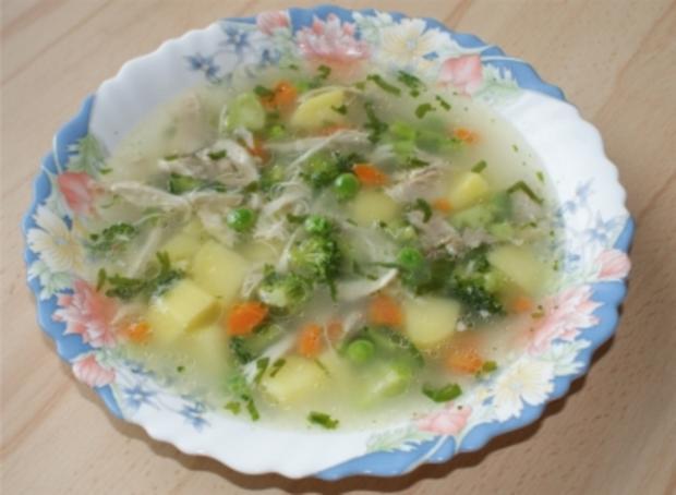 Hühner Suppe - Rezept - Bild Nr. 2