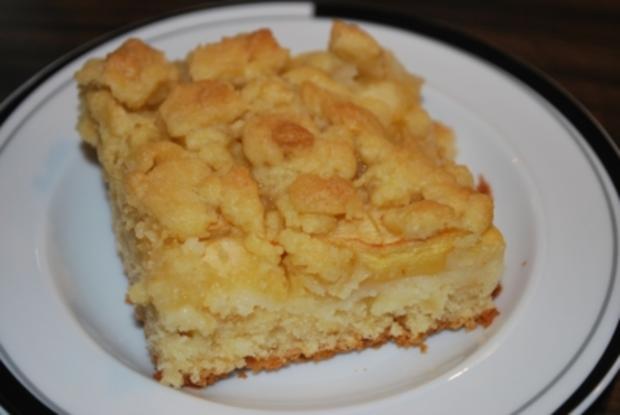 Schneller Apfel Streusel Kuchen Vom Blech Rezept Kochbar De