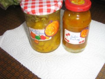 Kürbis-Ananas-Chutney - Rezept