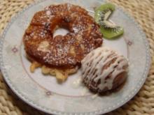 Frittierte Ananas - Rezept