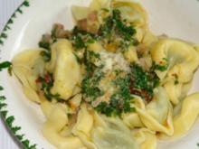 Tortellini mit frischen Kräuter - Rezept