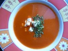 Paprikasuppe süß-sauer - Rezept