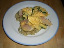 Zucchini-Frischkäse-Filet - Rezept