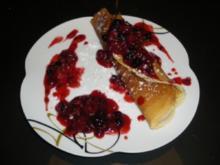Waldfrüchte auf Mascarpone im süßen Pfannkuchen-Mantel - Rezept