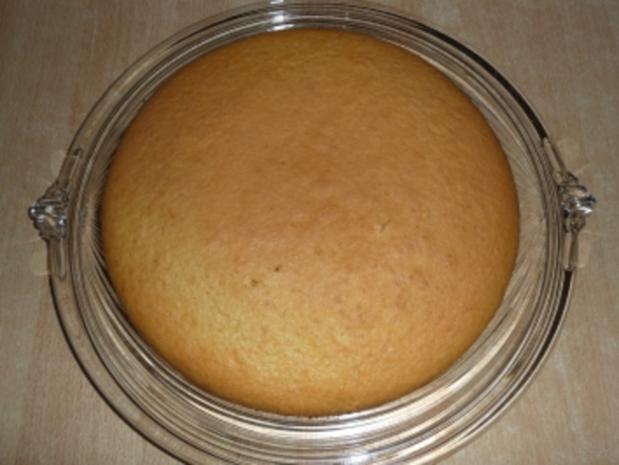 Geburtstags - Sprudel - Torte mit Pfirsichen - Rezept - Bild Nr. 5