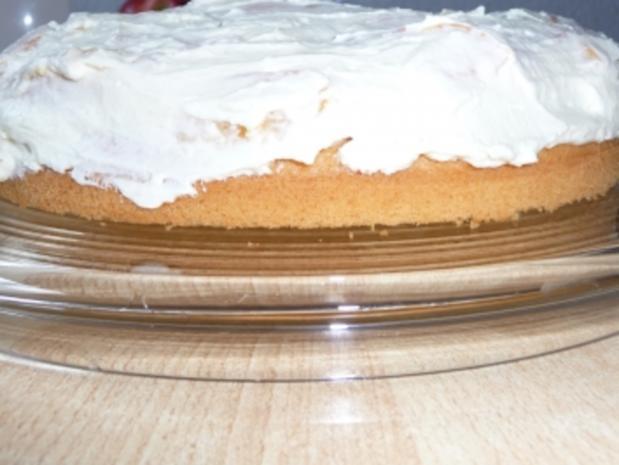 Geburtstags - Sprudel - Torte mit Pfirsichen - Rezept - Bild Nr. 4