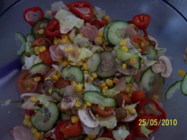Frischer Salat - Rezept