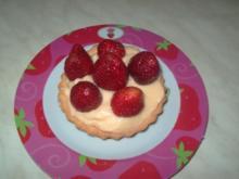 Cremetörtchen mit Erdbeeren - Rezept