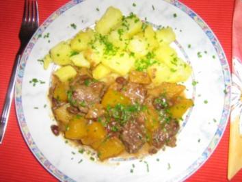 Kürbis-Gulasch - Rosa - Rezept