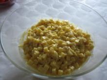 Käsesalat Bombay - Rezept