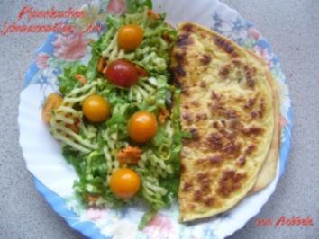 Hauptspeise: Pfannkuchen Schwarzwälder Art - Rezept