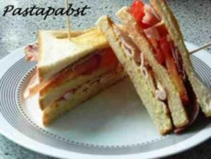 Hähnchen-Bacon-Sandwich - Rezept