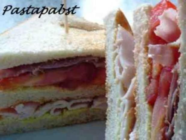 Hähnchen-Bacon-Sandwich - Rezept - Bild Nr. 5