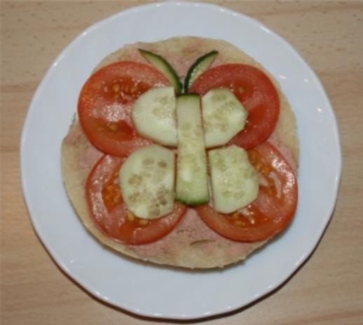 Kinder Leberwurst-Brot - Rezept