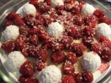 Himbeer-Raffaelo-Speise - Rezept