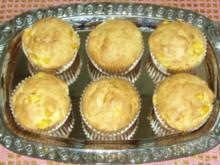 Kleingebäck - Kokos-Mango-Muffins - Rezept