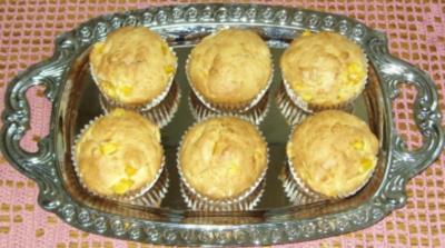 Rezept: Kleingebäck - Kokos-Mango-Muffins