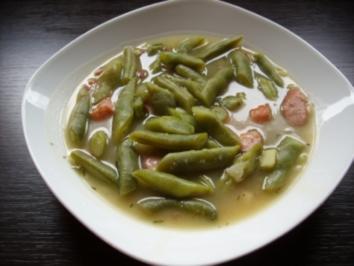Bohnensuppe, wie ich sie mag - Rezept