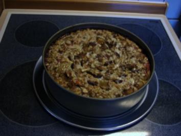 Mandel - Marzipan Zwetschgenkuchen - Rezept