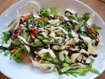Rucola-Tomatensalat - Rezept