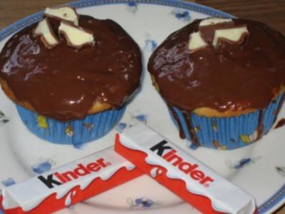Muffins mit Kinderschokolade - Rezept