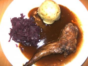 Rezept: Geflügel/ Wild: Kaninchenbraten