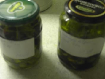 Vorspeisen - Vegetarisch - eingelegte Oliven mit Feta - Rezept