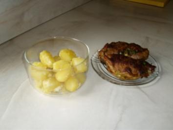 Gefüllte Kalbstaschen - Rezept